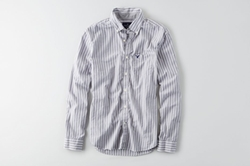 American Eagle Outfitters - AEO Striped Button Down Shirt