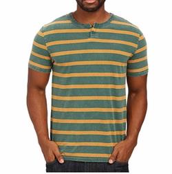 Brixton - Cohen Short Sleeve Henley Shirt