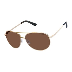 Liz Claiborne - Trixie Polarized Aviator Sunglasses