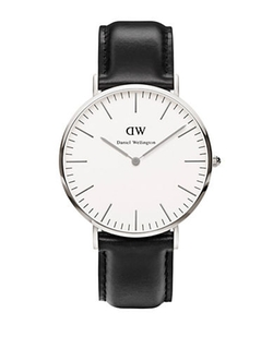 Daniel Wellington - Classic Sheffield Leather Strap Watch