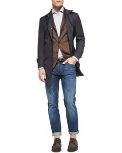 Brunello Cucinelli - Lightweight Medium Wash Jeans