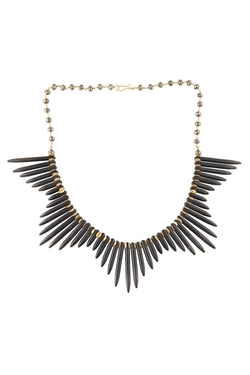 E. Shaw Jewels - Spike Crown Necklace