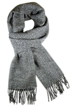 The Tie Bar - Streeterville Glen Wool Scarf