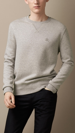 Burberry - Cotton Blend Sweatshirt