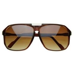 zeroUV - Square Aviators Sunglasses
