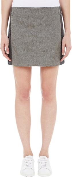 Edun - Colorblock Mini Skirt