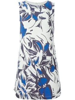 Vanessa Bruno - Mini Floral Shift Dress