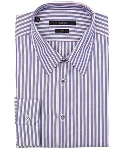 Gucci - Striped Point Collar Dress Shirt