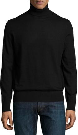 Neiman Marcus - Superfine Cashmere Turtleneck Sweater