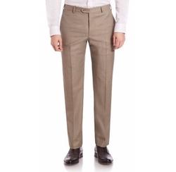 Armani Collezioni - Melange Textured Trousers