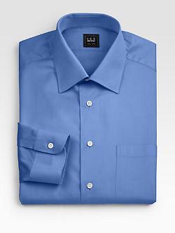 Ike Behar - Solid Dress Shirt