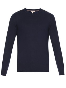 Burberry Brit - Jarvis Cashmere And Cotton-Blend Sweater