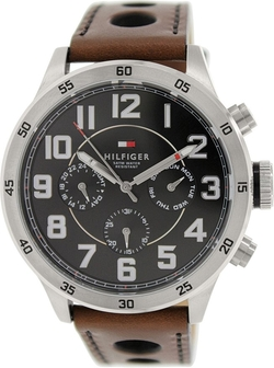Tommy Hilfiger - Leather Chronograph Watch