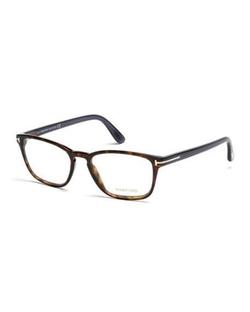 Tom Ford  - Transparent Havana Eyeglasses