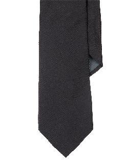 LAUREN RALPH LAUREN - Solid Textured Silk Tie