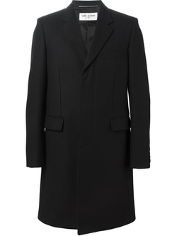 Saint Laurent - Single Breasted Coat