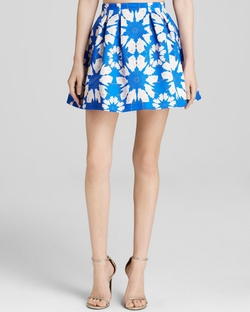 Alice + Olivia - Connor Daisy Crane Skirt