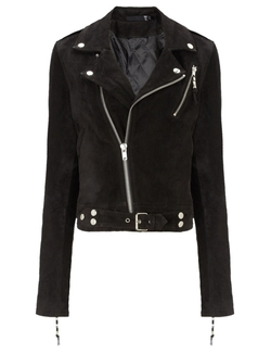 BLK DNM - Suede Cropped Jacket 1