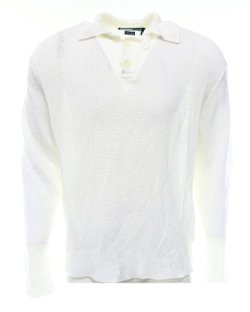 Polo Ralph Lauren  - Solid Linen Pullover Sweater
