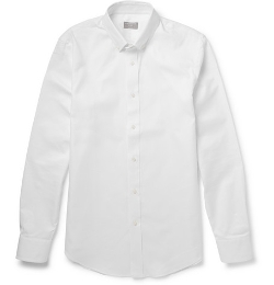 Club Monaco - Button-Down Collar Cotton Oxford Shirt