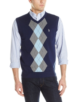 U.S. Polo Assn. - Argyle Sweater Vest