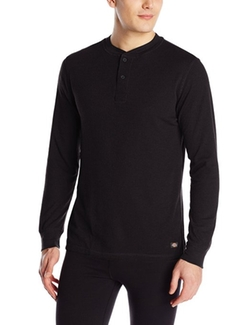 Dickies - Midweight Performance Waffle Henley Top