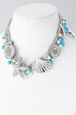 Karmas Canvas  - Seashell Chain Necklace