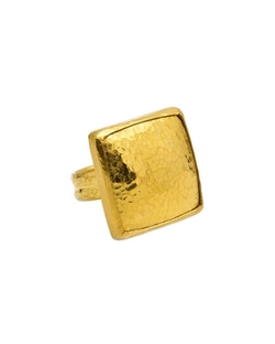Gurhan - Amulet Large Square Ring