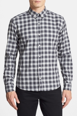 Bespoken - Brushed Herringbone Flannel Sport Shirt