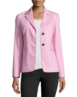 Jil Sander Navy - Two-Button Stretch-Wool Blazer
