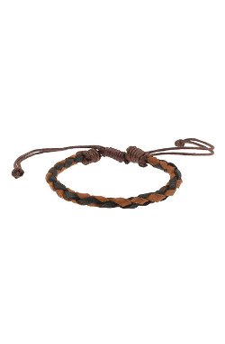 Monsieur  - The Brown and Black Braided Bracelet