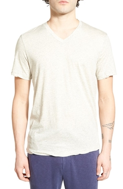 James Perse  - Mélange V-Neck T-Shirt
