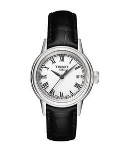 Tissot  - Ladies Carson Watch With Leather Strap