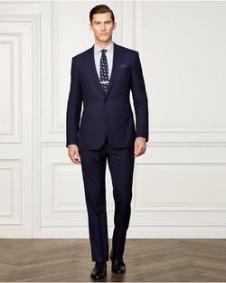 Ralph Lauren - Anthony Windowpane Wool Suit
