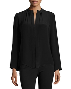 Derek Lam - Long-Sleeve Slim-Fit Blouse