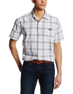Dickies - Short Sleeve Square Bottom Plaid Shirt