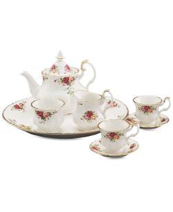 Royal Albert Serveware - Old Country Roses 9 Piece Mini Tea Set