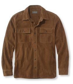 L.L.Bean - Chamois Suede Shirt Jacket