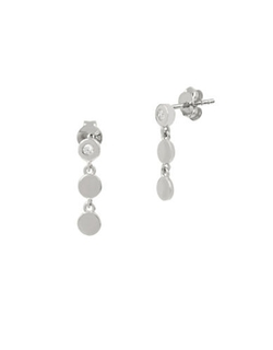 Kenneth Cole New York  - Triple Circle Drop Earrings