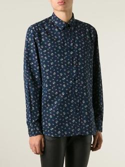 Saint Laurent - Floral Print Shirt