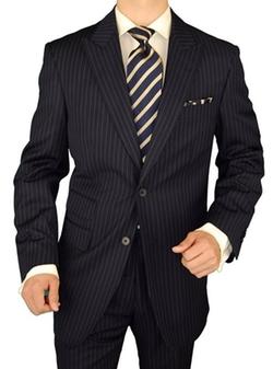 Gino Valentino - Chalk Stripe Suit