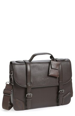 Ted Baker London  - Leather Messenger Bag