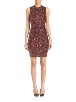 Alice and Olivia  - Rosalee Embellished Dress