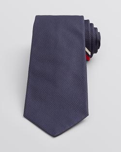 Valentino  - Asymmetrical Double Stripe Classic Tie