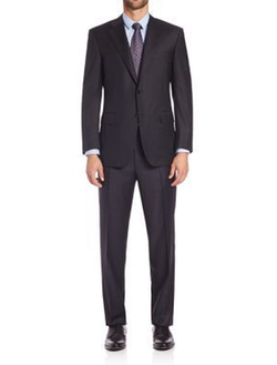 Canali - Wool Two-Button Suit