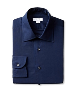 Orian - Slim Fit Poplin Dress Shirt