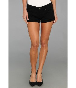 Mavi Jeans  - Cameron Low Rise Cut Off Short in Black Dominique