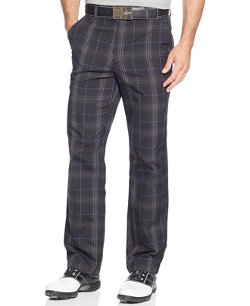 Greg Norman  - Tasso Elba Plaid Golf Pants