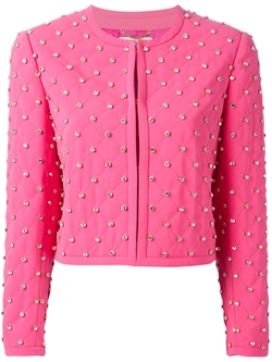 Moschino - Embellished Quilted Jacket