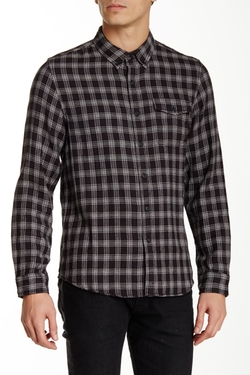 Burkman Bros  - Double Weave Long Sleeve Regular Fit Shirt